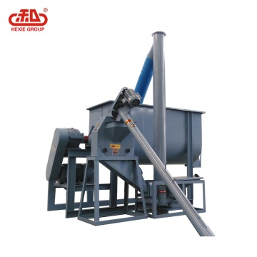Poultry feed prodiction line