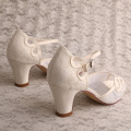 Ivory Sandals for Wedding Size 5