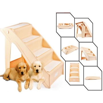 EASTONY SAFETY TESTED Folding Pet Stairs