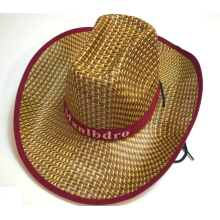 Stakerope Fashion Men Cowboy Straw Hat