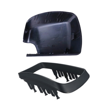 Automotive rearview side mirror plastic cover shell
