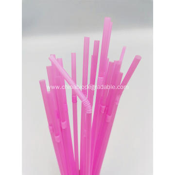 Compostable Eco Plastic Flexible PLA Party Drinking Straws