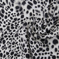 Leopard With Viscose Rayon Rich Crepe
