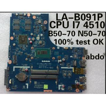 abdo abdo LA-B091P motherboard for Lenovo B50-70 N50-70 notebook motherboard CPU i7 4500U 4510U R5 M230 2G DDR3 100% test work