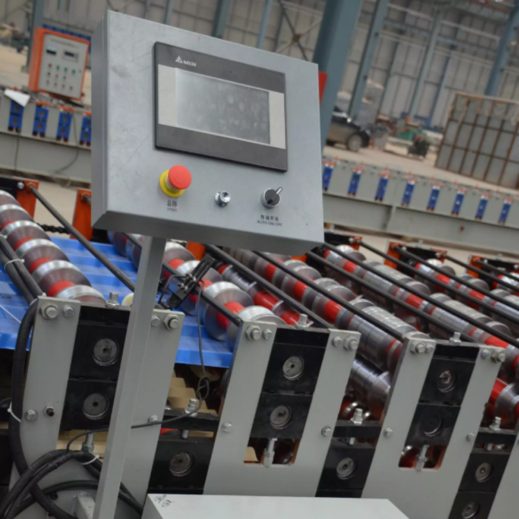 corrugated sheet machine double