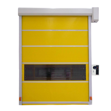 PVC Curtain Fast Rolling-up Door