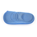 Easy-carry zipper shoes shape folding eva eyeglasses case