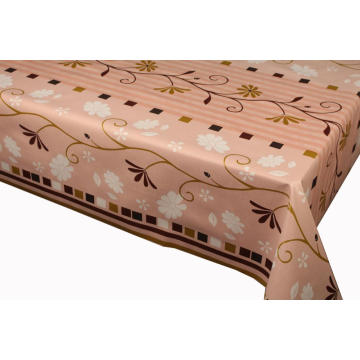 Elegant Tablecloth with Non woven backing Stabilized