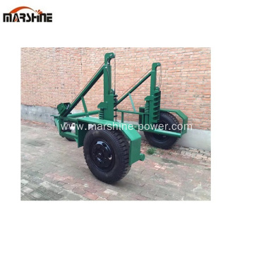 Used Hydraulic Reel Trailer Single Reel Trailer