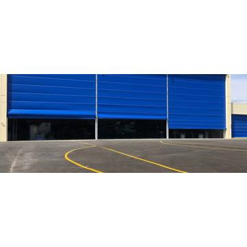 Rapid industry stacking up hangar door