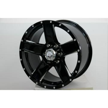5spoke Black 18inch alloy wheel After market
