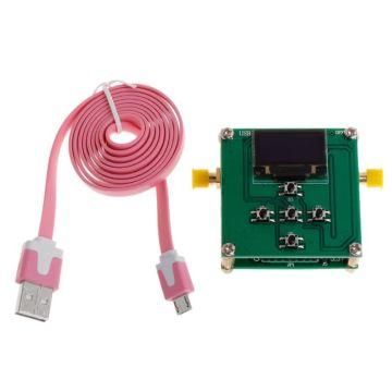 PE43702 31.75dB Digital RF Attenuator Module 9K-4GHz 0.25dB Stepping Precision with OLED Microcontroller Control Board