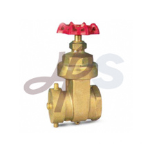 Brass boiler gate valves
