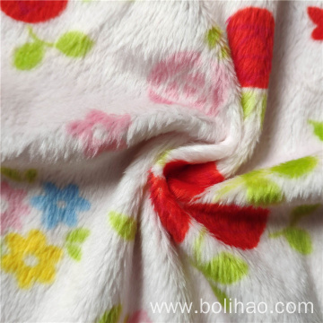 Printed One Side Super Soft Fleece Fabric