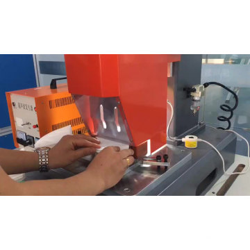 Ultrasonic Face Mask Machine para sa pag-sealing ng FFP3