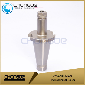 NT50-ER20-100L NT type Powerful collet chuck