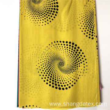 Geometrical Design Rayon Dyed And Printed Fabrics Stone