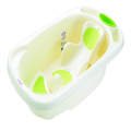 Safety Baby Plastic Bathtub With Bath Bed