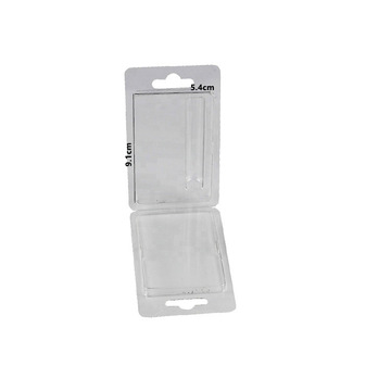 Custom Vape Cartridge Clear Blister Clamshell Packaging