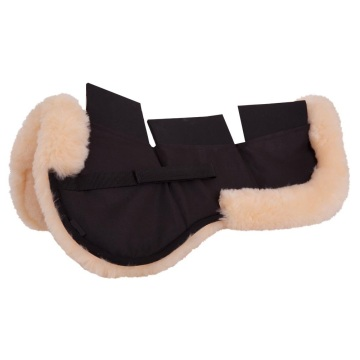 High quality horse equipment sheepskin saddle pad