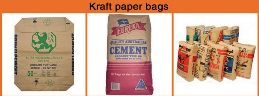 cement bag for sale