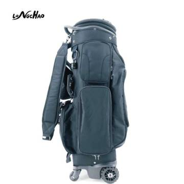 Outdoor Master Golf Club Bag with Four Wheels easy to carry