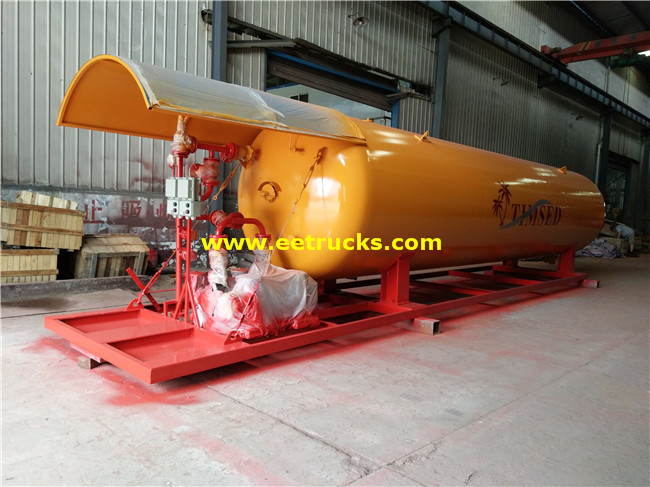 10T 20 CBM Mobile LPG Filling Stations