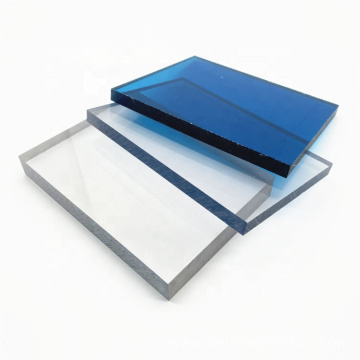 Impact resistance solid polycarbonate sheet for gate