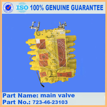 GENUINE KOMATSU PC200-8 Valve Assembly 723-46-23103