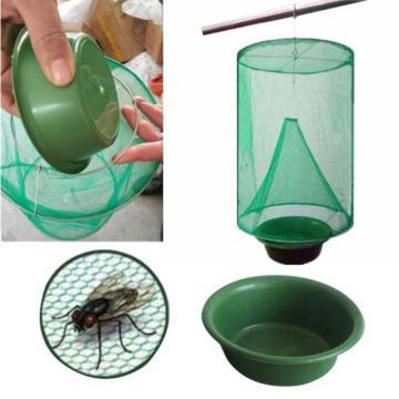 Farm Flycatcher Durable Durable Hanging Trap Outdoor Fly Catcher Killer Cage Summer Efficient Reusable Pest Control Flycatcher
