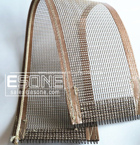 Non-stick PTFE mesh conveyor for industry