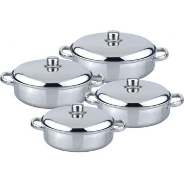 8pcs low casserole set  south ameirica