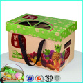 Recycled Fruite brown kraft paper Cardboard Box