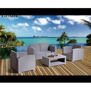 Unique Design Sectionl Rattan Garden Furniture Sofa