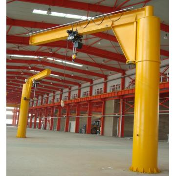Movable slewing jib crane for sale