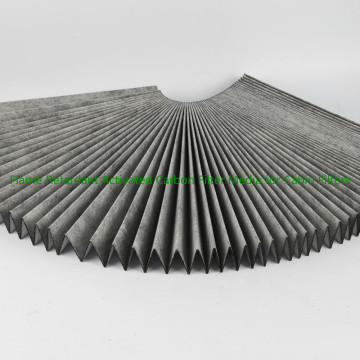 Activated Carbon Filter Media for Cabin Filters