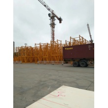 Large tower crane capacity