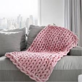 Fashion Knitted Bed Blanket