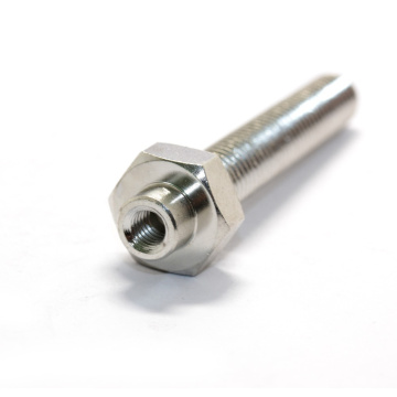 CNC Turned Machining Threaded hollow screw