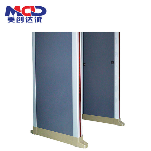 Security High Sensitivity Fireproof 8 Zones Walk Through Metal Detector   MCD600