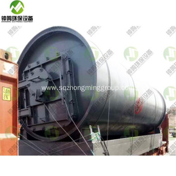 Waste Plastic to Fuel Oil Conversion Process Plant