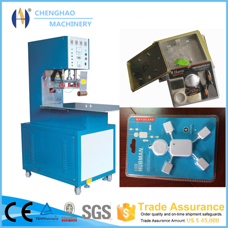 Turn-table High Frequency Blister Packing Machine