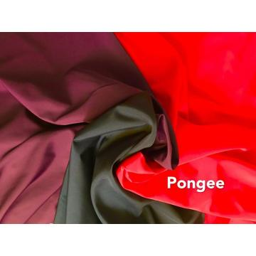100% Polyester Microfiber Dyed Pongee