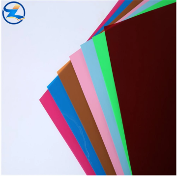 Rigid PS sheets acrylic films for food package