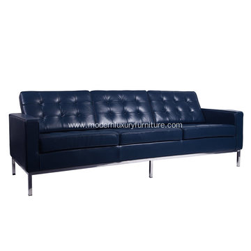 High-End Genuine Leather Knoll Sofa 3 Seater