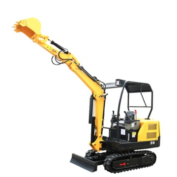 Chinese easy to operate mini crawler excavator for sale