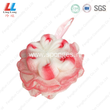 loofah mesh squishy bath sponge shower ball