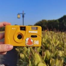 KODAK Vintage Retro M35 35mm Reusable Film Camera Yellow / Mint Green / Blue /Pink/ Red With Kodak Fuji Film ( 1 Roll - 2Roll )