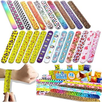 Custom Colorful Slap Bracelets Valentines Day Wristband