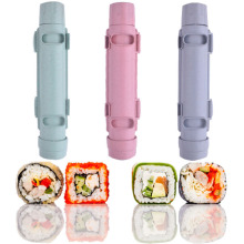 DIY Sushi Mold Kitchen Gadget Sushi Maker Rice Ball Meat Cake Roll Mould Multifunctional Kitchen Bento Accessories Sushi Tools